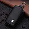 Key bag Peugeot carbon