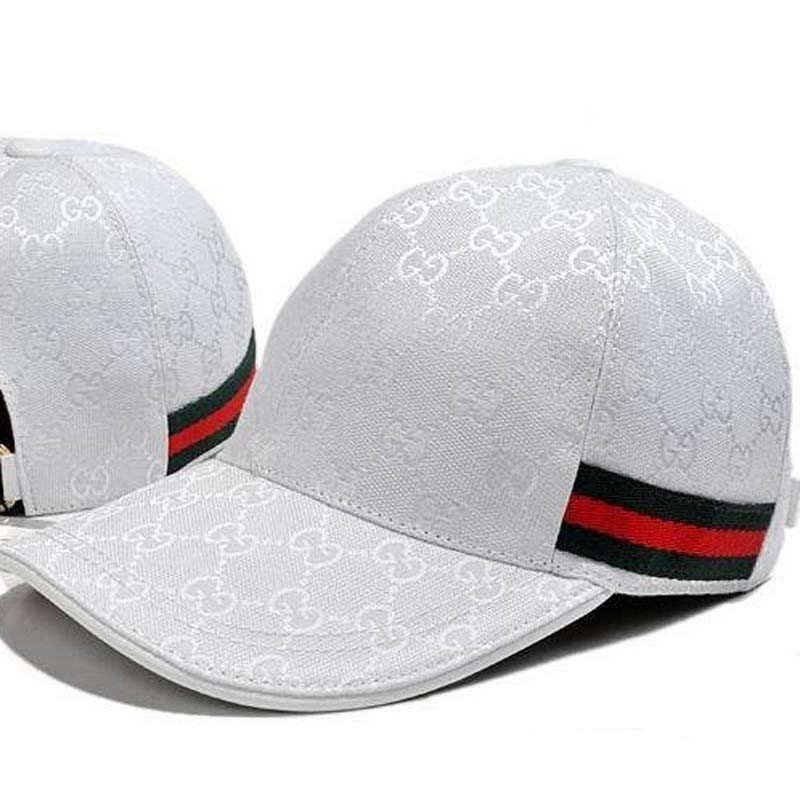 Cap Gucci white